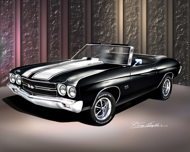 """1970 CHEVY CHEVELLE SS NEW A4 POSTER GLOSS PRINT LAMINATED 11.7/""""x8.3/"""""""